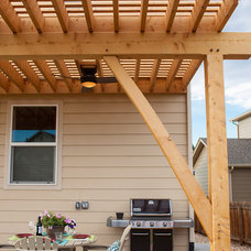 Craftsman Patio by Frameworks Timber