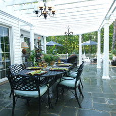 Traditional Patio by THE OHIO VALLEY GROUP, INC.
