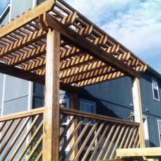 Traditional Patio by The Deck Store