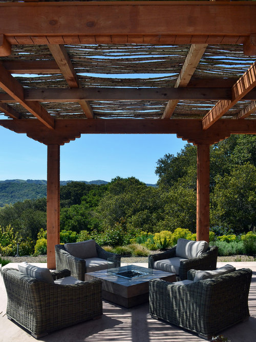 Inspiration For A Modern Patio Remodel In San Francisco With A Pergola