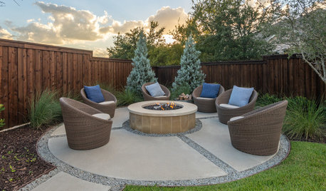 9 Fresh Concrete Patio Ideas for Yards of all Styles