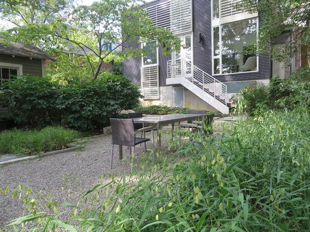 contemporary patio by carex garden design by carolyn mullet