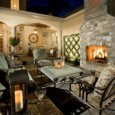 Mediterranean Patio by Guidi Homes
