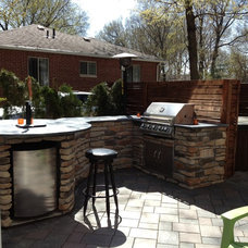 Traditional Patio by Caroselli's Outdoor Living and Landscape, LLC