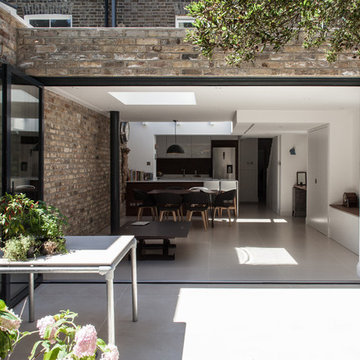 Photography for Edwards Rensen Architects, house extension and refurbishment