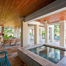 Contemporary Patio by Patrick Brickman