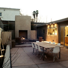 Modern Patio by Lazar Landscape Design and Construction