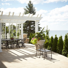 Traditional Patio by Zahn Builders Inc.