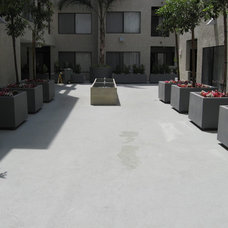 Modern Patio by Central Coast Waterproofing