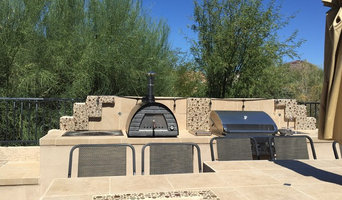 Pizza oven- affordable back yard!