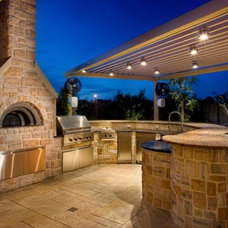 Traditional Patio by Renato Ovens, Inc