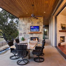 Contemporary Patio by Sterling Custom Homes