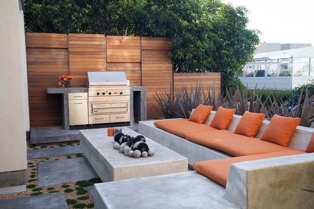Minimalistisch Patio by Shades Of Green Landscape Architecture