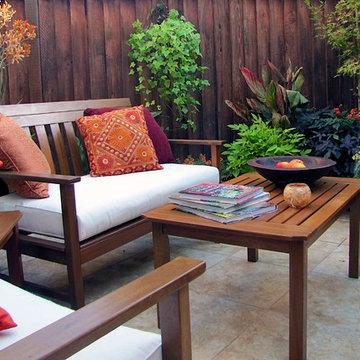 Pleasant Hill Courtyard Garden