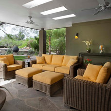 contemporary patio by Exteriors By Chad Robert