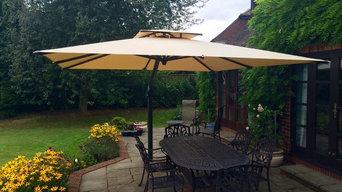 Poggesi Piazza - Large Garden Parasol