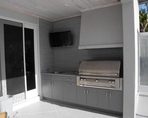 Polymer Cabinets | Houzz