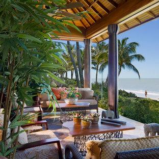 Inspiration for a patio remodel in Miami