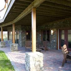 Modern Patio by Habitat Post & Beam, Inc.