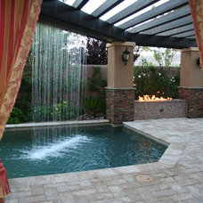 Mediterranean Pool by Watters Aquatech Pools & Spas
