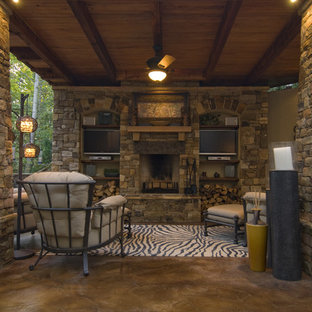 Stamped Concrete Floor Houzz