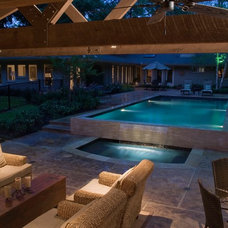 Contemporary Patio by Exterior Worlds Landscaping & Design