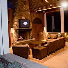 Traditional Patio by Edgework Builders, Inc.