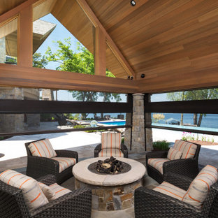 Pool House in Palmer Pointe, MN