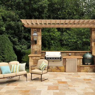 Patio - traditional patio idea in Atlanta