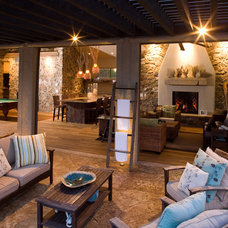 Eclectic Patio by Rentfrow Design, LLC