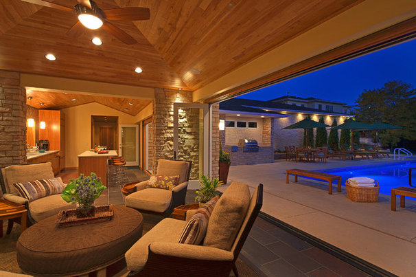 Contemporary Patio by McDonald Remodeling