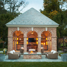 Traditional Patio by Douglas VanderHorn Architects