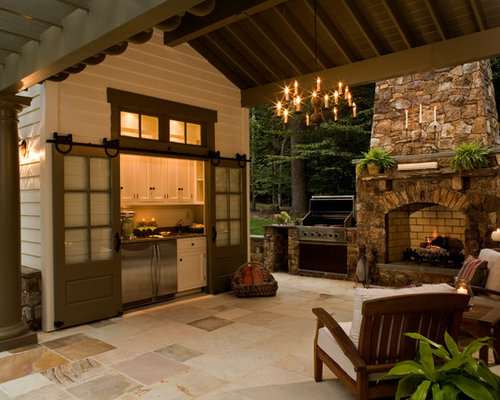Super Covered Patio Design Ideas Remodel Pictures Houzz Largest Home Design Picture Inspirations Pitcheantrous