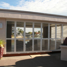 Contemporary Patio by Weatherwell Elite - Aluminum Shutters