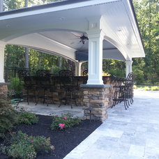 Traditional Patio by O'Connor Contracting LLC