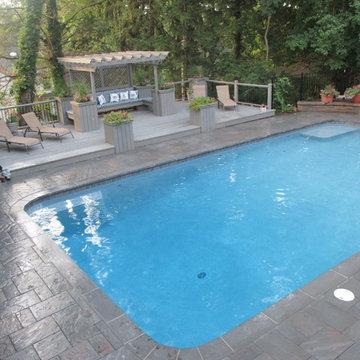 Pool Patio, Ridgewood, NJ