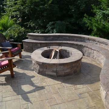Pool Pavilion and Fire Pit