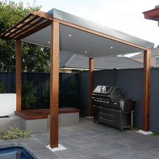 Modern Patio by A Better Life Outside Pty Ltd