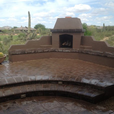 Traditional Patio by Desert Crest, LLC
