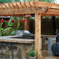 Traditional Patio by Preferred Pools Inc.