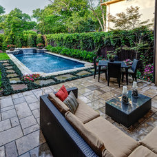 Contemporary Patio by Scapes Incorporated