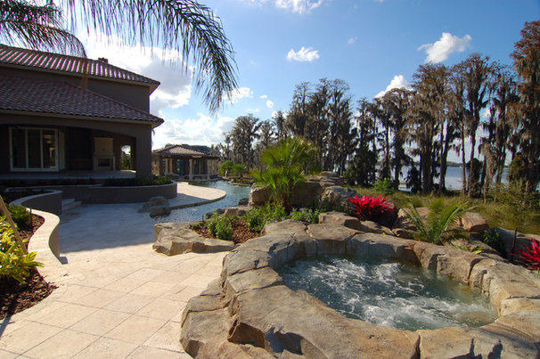 Tropical Patio by Tropical Pools