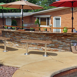 Couvers Next Pool Landscaping Ideas Midwest