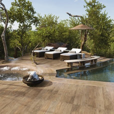 Contemporary Patio by Midwest Tile & Granite Austin