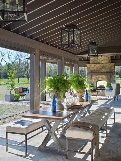 Farmhouse Patio Design Ideas Remodels Amp Photos Houzz