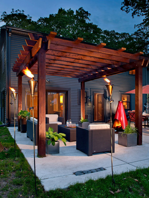 patio design ideas, remodels & photos | houzz - Slab Patio Ideas