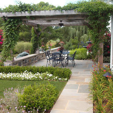 Traditional Patio by New Life Landscapes