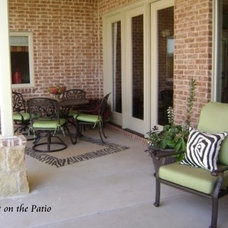 Contemporary Patio by Out on the Patio