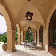 Mediterranean Patio by Lencioni Construction