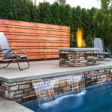 Contemporary Patio by Coppercreek Landscaping